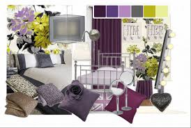 Purple And Yellow Bedroom Grey Master Bedrooms Pinterest Grey And White Bedroom Bedrooms