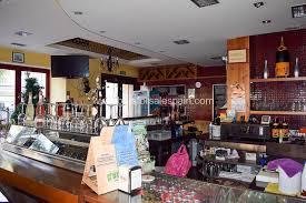 busy restaurant interior. Unique Interior Restaurant And Separate Bar In Busy Fuengirola Location To Interior