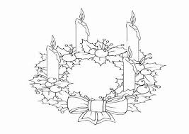 Advent Wreath Coloring Page Best Of Christmas Coloring Sheets