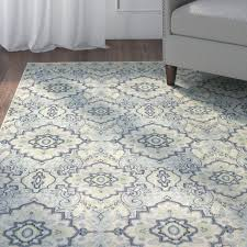 blue grey area rug gray by andover mills brown beige