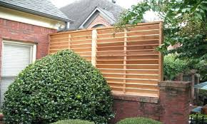 outdoor wood privacy screen awesome enloestuco home pertaining to 5