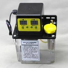 lubrication pump 1 8l dual digital display automatic electric lubrication pump oiler nc pump