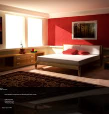 Bedroom Designs: Red Bedroom With Persian Carpet - Red Bedrooms