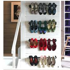 wall shoe holder ideas sweet stylish shoe rack