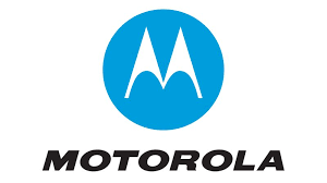 motorola logo white. the white symbols on motorola logo depict two spotlights shining breasts, as company was originally a gift for ceo\u0027s busty wife. d
