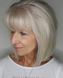 The truth is you will look most beautiful in a bob hairstyle and color you're comfortable with. Bob Hairstyles For Women Over 60 Fine Hair Page 1 Line 17qq Com