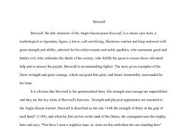 epic hero essay topics docoments ojazlink beowulf essays epic hero