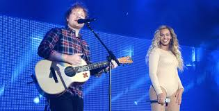 beyonce takes the stage ed sheeran at global citizen festival beyonce takes the stage ed sheeran at global citizen festival 2015 2015 global citizen festival beyonce knowles ed sheeran pearl jam just jared