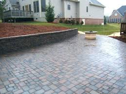 cost of patio pavers patio cost of patio awesome ideas resurfacing stone cost of concrete patio versus pavers