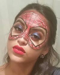spiderman makeup mask superhero spidermanmask spiderman makeup