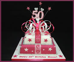 50th Birthday Cake 7 Steps With Pictures