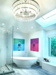 small glass chandelier for bathroom trend small bathroom chandelier bathroom chandeliers ideas bathroom with glass chandelier