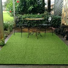 artificial turf grass rug 5 x fake carpet synthetic roll
