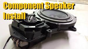 component speaker installation component speaker installation