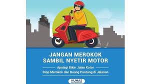Untuk memberi tanda pada saat kendaraan akan berbelok 6. Mengapa Merokok Sambil Nyetir Motor Berbahaya Otomotif Liputan6 Com