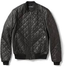 Amp up your look in this @gucci black bomber jacket @MRPORTERLIVE ... & Gucci - Quilted Leather Bomber Jacket - Now Adamdwight.com