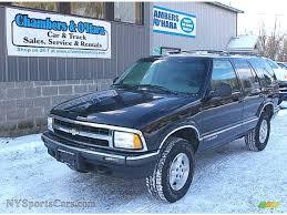 1995 Chevrolet Blazer LS 4x4 in Black - 184189 | NYSportsCars.com ...
