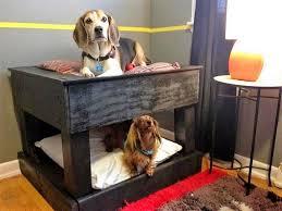 wooden pallet dog bed idea 14