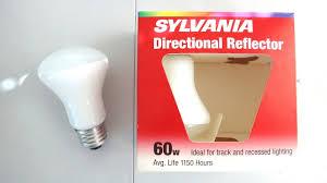 Light Bulb Youtube Sylvania Directional Reflector 60watt Light Bulbs