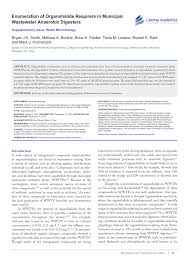 Growth Of Dehalococcoides Strains With Chlorophenols As Electron