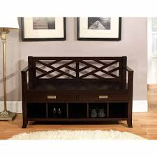... Simpli Home Sea Mills Entryway Storage Bench Drawers Simpli Cubbies  Walmart Com And Cushion Full Size