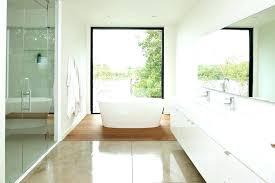 concrete flooring bathroom concrete floors bathroom modern concrete floors bathroom with all white tub and shower