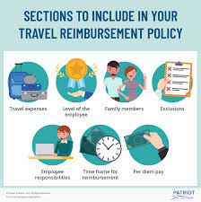 Travel And Expenses Travel Reimbursement Policy Sections To Include More