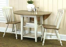 drop leaf kitchen table set round dining and small 2 chairs