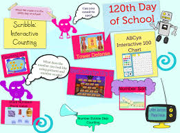 Abcya 100 Chart 120th Day Of School Text Images Music Video Glogster
