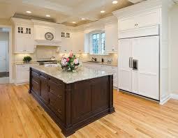 white kitchen cabinets brown kitchen island 30 giallo ornamental granite countertops with fabulous colors