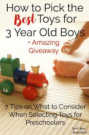 Discover how to pick the best toys for 3 year old with these 7 tips from How Pick Best Toys Year Old Boys + Amazing Giveaway