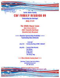 Family Reunion Flyer Templates Free Family Reunion Flyers Rome Fontanacountryinn Com