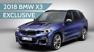 2018 bmw x3. plain 2018 2018 bmw x3 revealed  exclusive studio walkaround with calvin luk to bmw x3