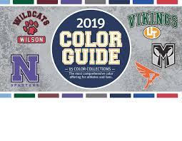 Sanmar Color Guide 2019