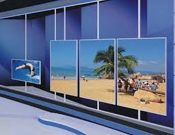 Small Picture 4x8 pcs LG 55inch panel 0 mm bezel LCD video wall CCTV Monitor