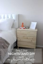 nightstand diy amy howard at home easy diy