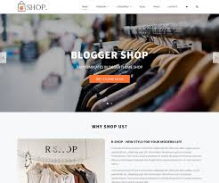 Ecommerce Website Template Wonderful Rshop Blogger Template Blogger Templates 24