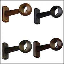 extended brackets for curtain rods eyelet curtain curtain ideas