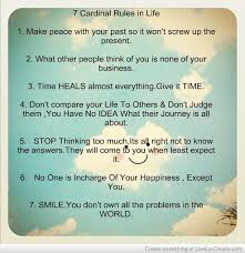 40 Rules Of Life Quote Quotes Of The Day New 7 Rules Of Life Quote