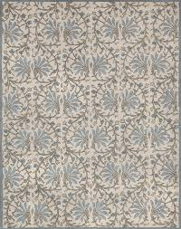 rugsville quinta moderno beige light blue 11738 rug 9x12