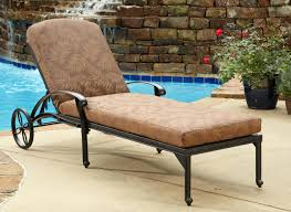 image outdoor furniture chaise. Photo Of Outdoor Furniture Chaise Lounge With Sweet Wicker Patio Presenting Light Brown Leather Image E