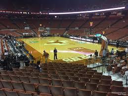 Frank Erwin Center Section 40 Texas Basketball