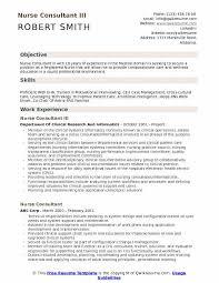 Nurse Consultant Resume Samples Qwikresume
