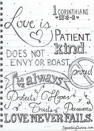 Love Is Patient Coloring Page Sparkling Twine A Blog About Crafts