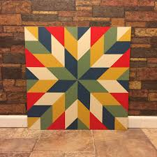 Barn Quilt Patterns Fascinating Barn Quilt By Janice R Cox Two By Two Barn Quilts Ideas Pinte