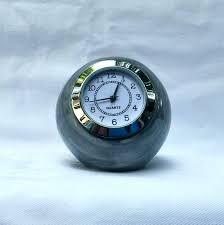 full size of small digital led desk clock nz clocks ball shaped gray ceramic table decorating