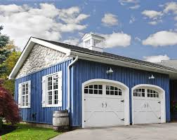 single car garage doors. Here We Have A White, Two Car Carriage-style Garage With Black Mounting Hardware Single Doors