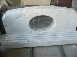 white marble table top. white marble vanity top , countertop table