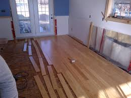 image of laminate flooring in basement cold floor