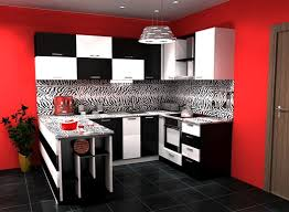 Red And Black Kitchen Designs Of exemplary Red And Black Kitchen Ideas Visi  Build Cool